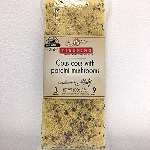 Tiberino's Real Italian Meals - Cous cous w/ Porcini mushrooms by Tiberino