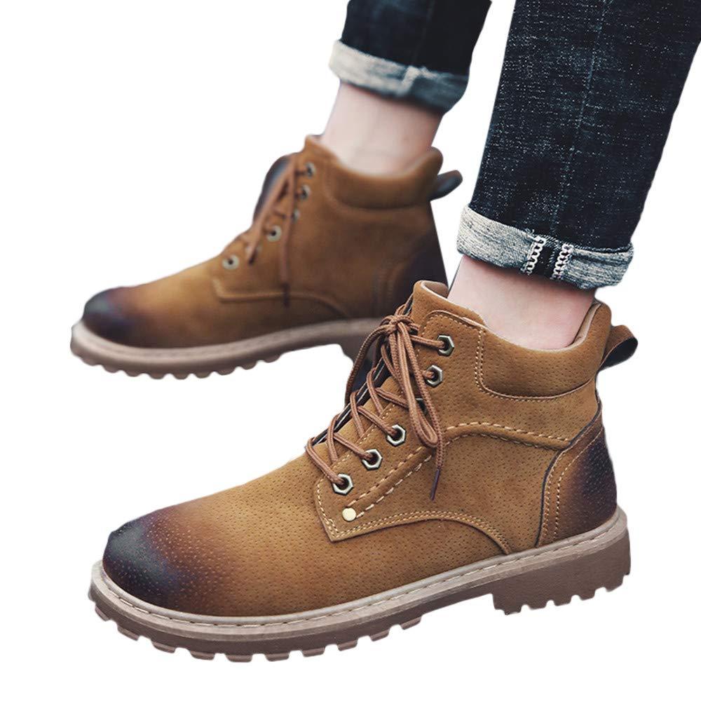 OHQ Zapatos para Herramientas Hombre Aire Libre Casual Mantener Caliente Usan Zapatillas Altas Resistentes Botines CóModo DiseñO: Amazon.es: Zapatos y ...