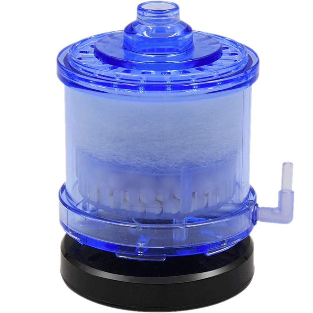 Aquarium Filter Mini Suction Toilet Tank Lower Gas Lift Low Power Aeration Pump, Suitable Sea Water Tank, Fresh Water Tank [Energy Class A]