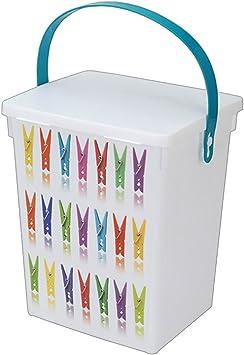 VISCIO TRADING pinzas de la ropa fácil contenedor caja LT5: Amazon.es: Bricolaje y herramientas