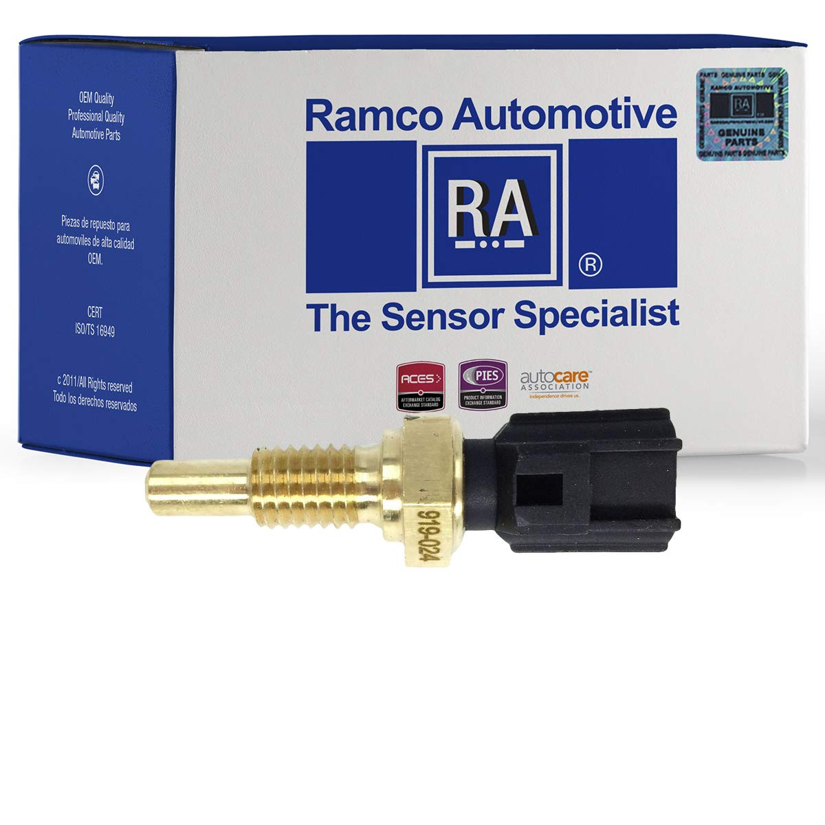 Compatible with Wells SU2188 Engine Cylinder Head Temperature Sensor RA-TS1076 Standard Motor Products TX91 Ramco Automotive