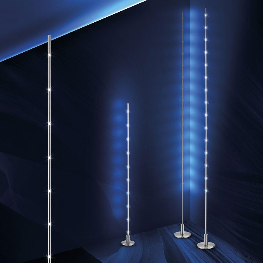 LICHT-TREND LED-Stehlampe STICK / 10 Watt / 100cm / Alu-matt: Amazon ...