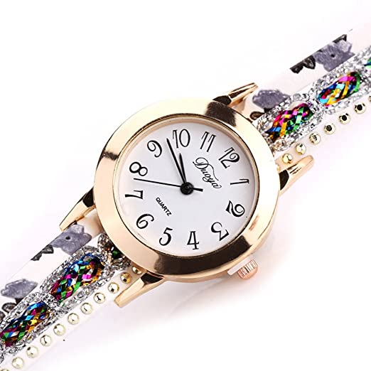 Amazon Com Watch Womens Watch Women Flower Gemstone