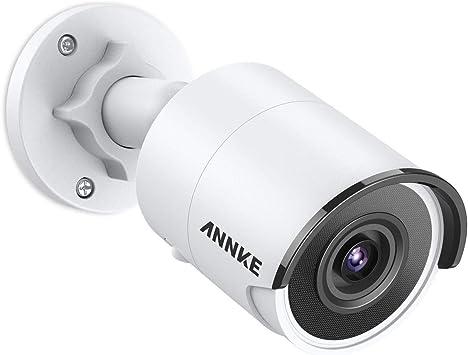 Opinión sobre Annke PoE Ultra HD Cámara de Vigilancia 8Mpx Compresión de Vídeo H.265 para Exteriores/Interiores Exir Visión Nocturna 30m IP67 Ipermeable con Sensor De Movimiento