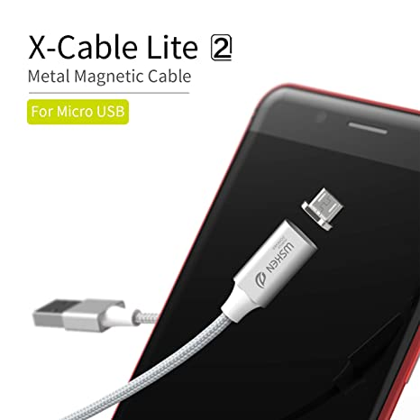 WSKEN Cable Micro USB Android Lite2 Magnético Micro USB 2.0 ...