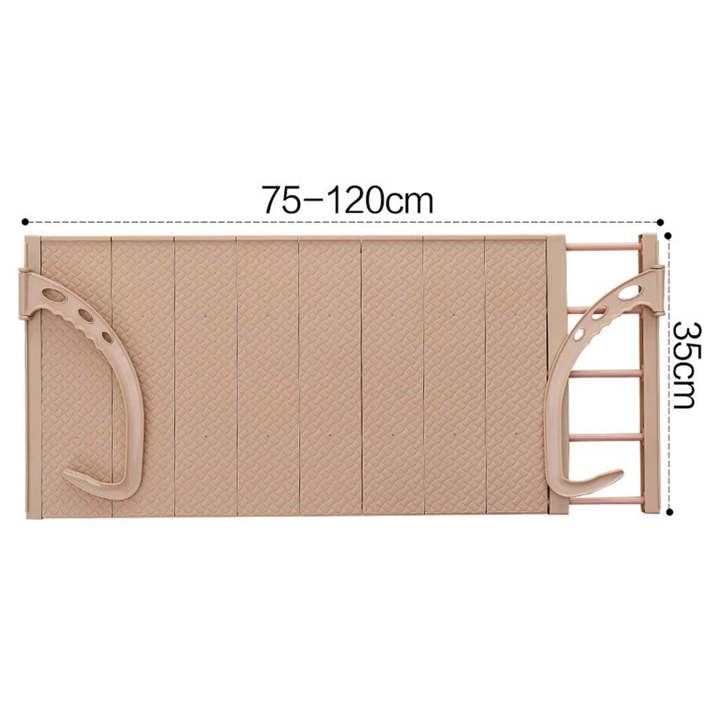 Farbe : Blau, gr/ö/ße : L W/äscheleine Faltbarer Handtuchhalter Multifunktions-Heizk/örper-Home-Balkon-Fensterbrett-Trocknungsschuhgestell Universal