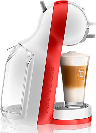 DeLonghi Dolce Gusto Mini Me EDG305.WR - Cafetera de cápsulas, 15 bares de presión, color blanco y rojo: Amazon.es: Hogar