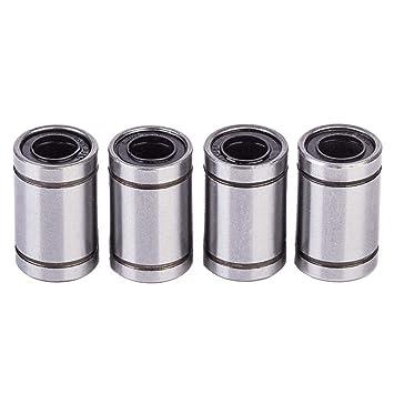 4 rodamientos de Bolas lineales LM8UU de 8 x 15 x 24 mm para ...