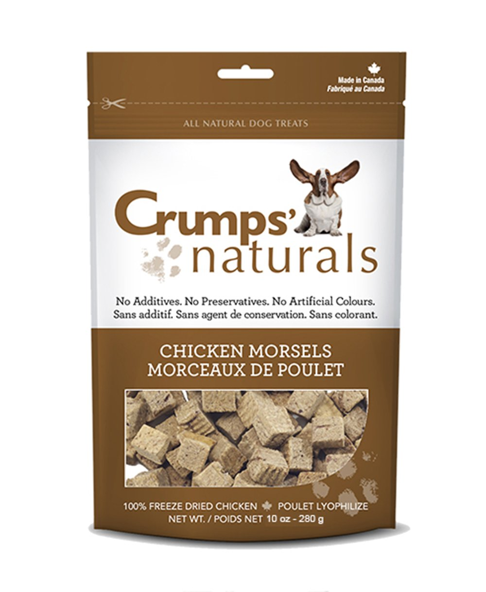 Crumps' Naturals Chicken Morsels for Pets, 4.7-Ounce