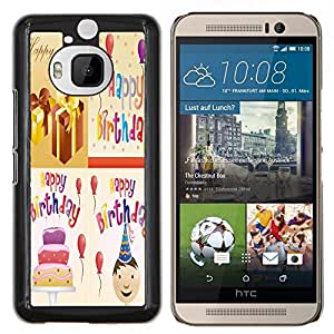 Dragon Case - FOR HTC One M9+ / M9 PLUS - Life is a span - Caja protectora de pl??stico duro de la cubierta Dise?¡Ào Slim Fit