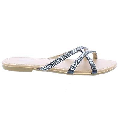f7897d8610ab Amazon.com  26 Accessories Chatties Women s Mirror Metallic Sandal ...