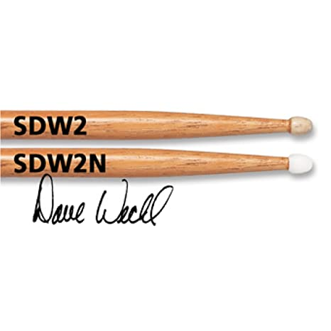 VIC FIRTH SDW2 Bacchette Dave Weckl Evolution Signature Punta in Legno