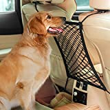 Cheap AUTOWN Car Dog Barrier & Auto Seat Net Organizer, Universal Stretchy Car Seat Storage Mesh & Mesh Cargo Net Hook Pouch Holder, Disturbing Stopper from Children and Pets as Car Backseat Barrier Net