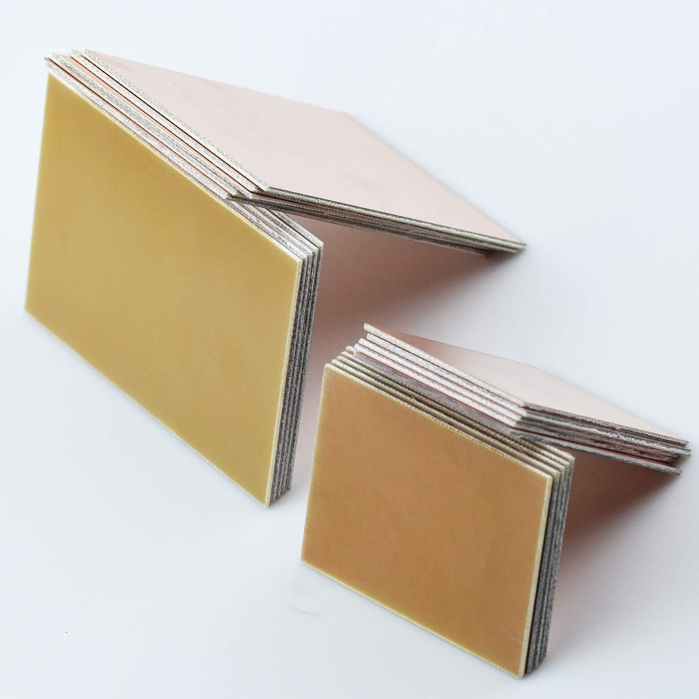 Einseitige Leiterplatte Bakelit-Leiterplatte mit Kupferbeschichtung 5X10-20x30cm