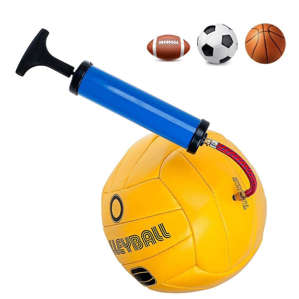 FEPITO 10 St/ück Ventilnadeln f/ür Ballpumpe Ball Pumpe Nadeln mit Flexibel Luftschlauch und D/üsenventil Adaptersatz Kit f/ür Fu/ßball Basketball Rugbyb/älle Volleyball
