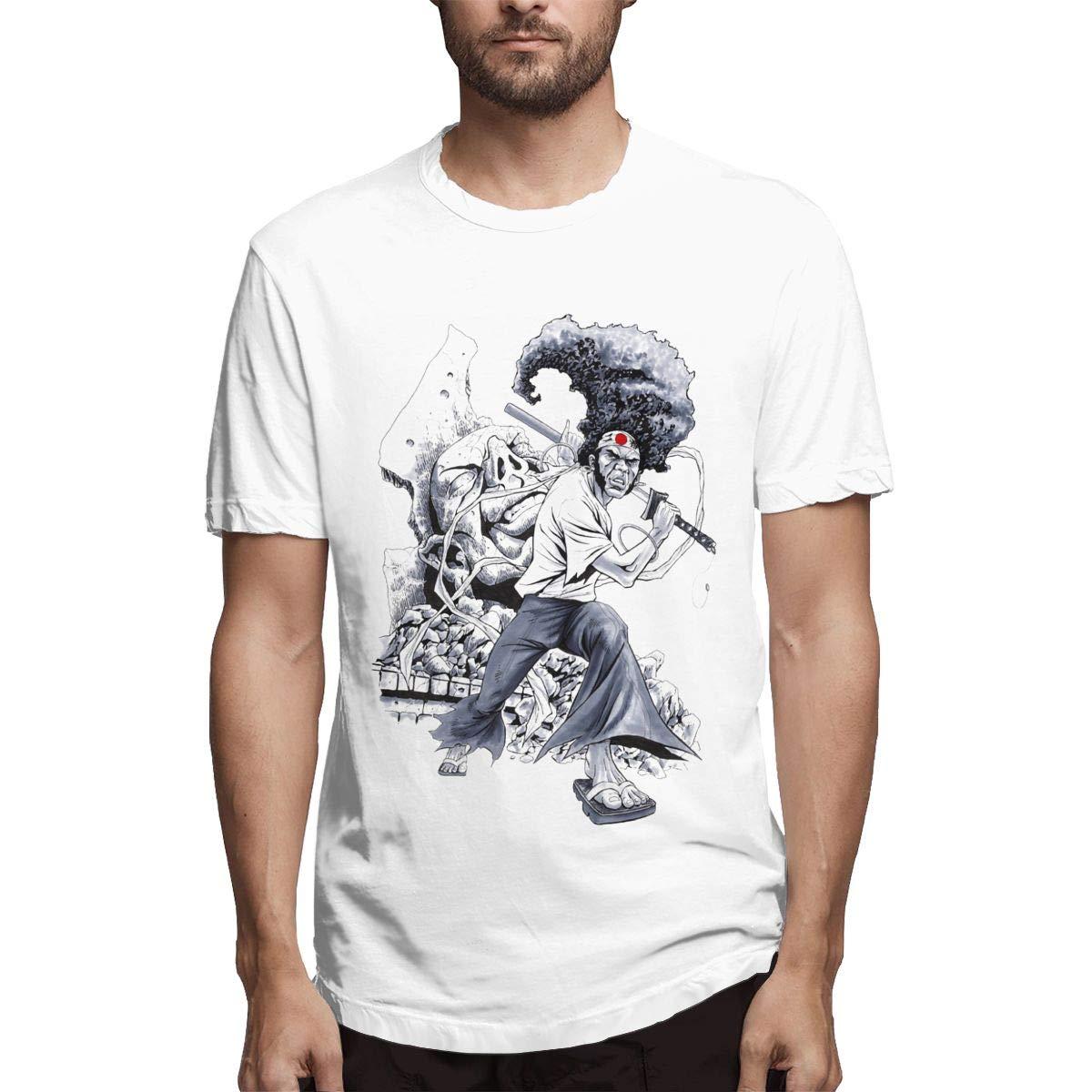 Amazon.com: DDHHYY Samurai Afro & Kuma & Ninja Ninja Mens ...