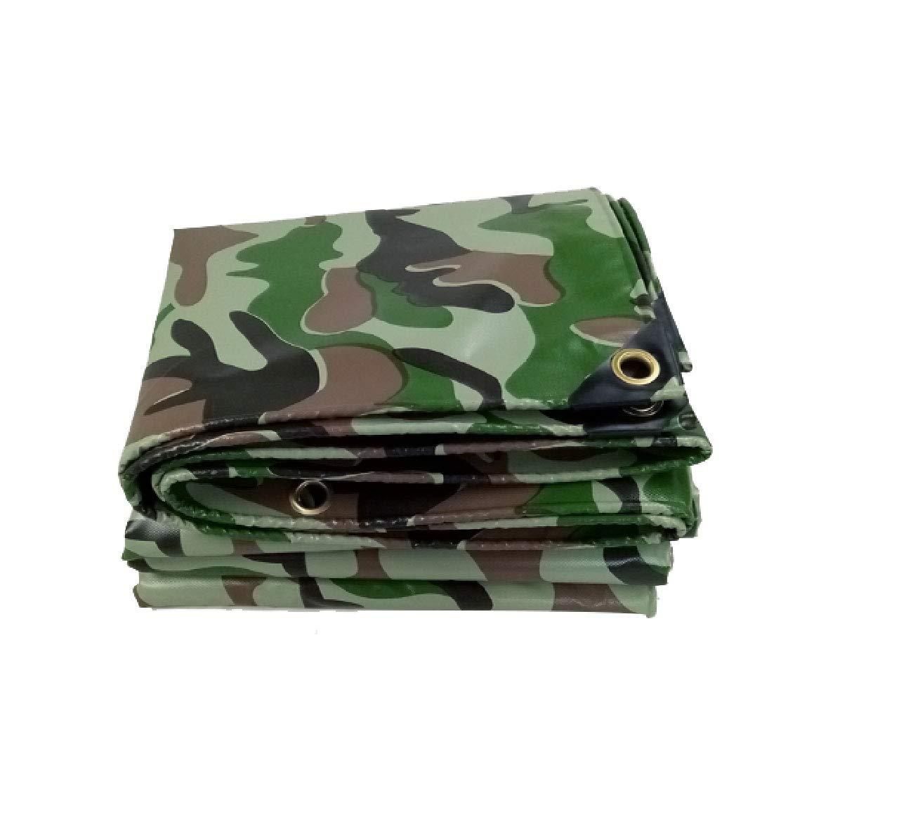 58m Toile de bÂche de Camouflage Toile imperméable Tissu imperméable à l'eau Jungle Couteau de Camouflage gratter Tissu Housse de Pluie Prougeection Solaire Anti-poussière (Taille   2  2m)