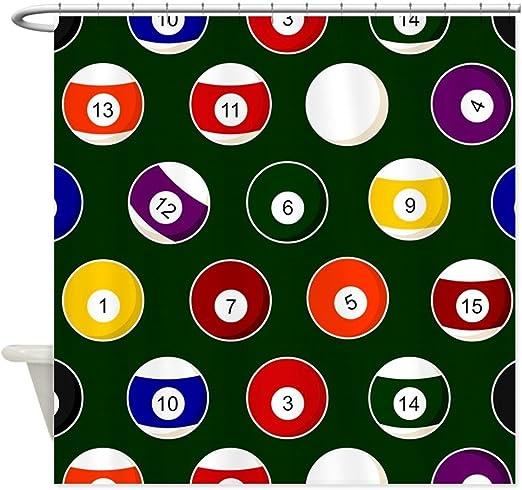 CafePress – verde bolas de billar billar patrón diseño de lunares ...
