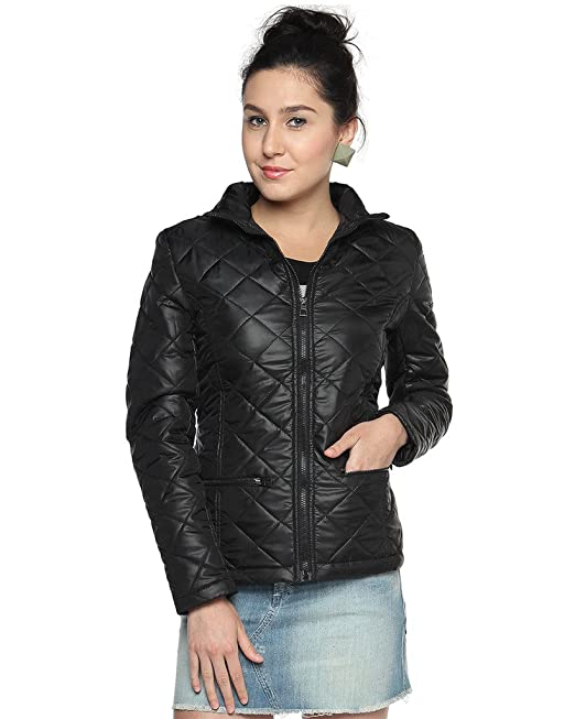 Campus Sutra Women's Polyester Jacket Women's Jackets at amazon