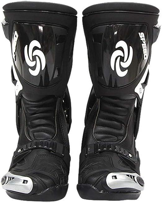 AIFXZ Botas de Moto para Hombre Bicicleta de montaña Botas de ...