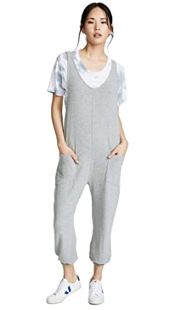 93489f2d0fe7 Amazon.com  Spiritual Gangster Women s Hacci Jumpsuit  Clothing
