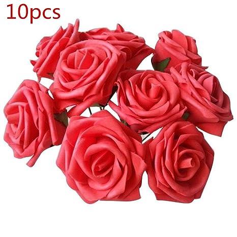 Hochzeitsdekoration 10 Rosen Blumen Handarbeit Dekoration Hochzeit Blumen, Blüten & Girlanden