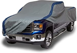 """Duck Covers Weather Defender Pickup Truck Cover for Extended Cab Short Bed Trucks up to 19' 4"""""""