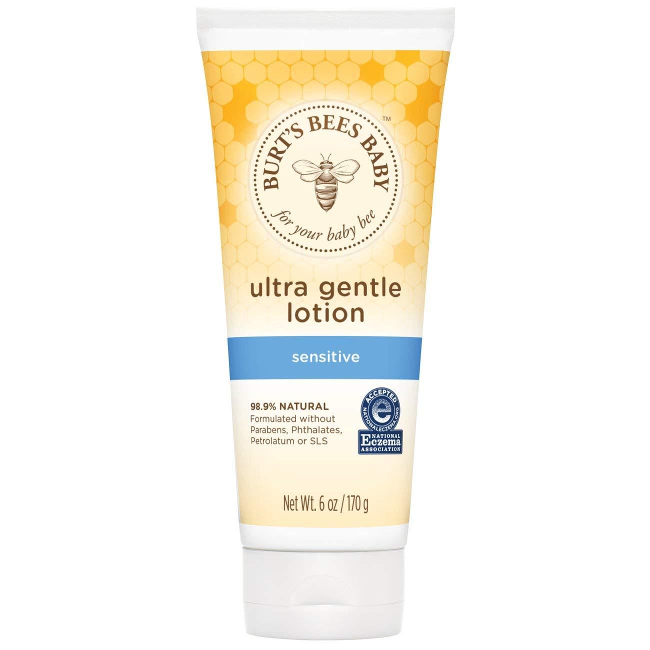 Burt's Bees Baby Ultra Gentle Lotion for Sensitive Skin - 6 oz