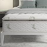 Signature Sleep 13-Inch Independently Encased Coil Pillow Top Mattress, Soft Mattress Support, Queen