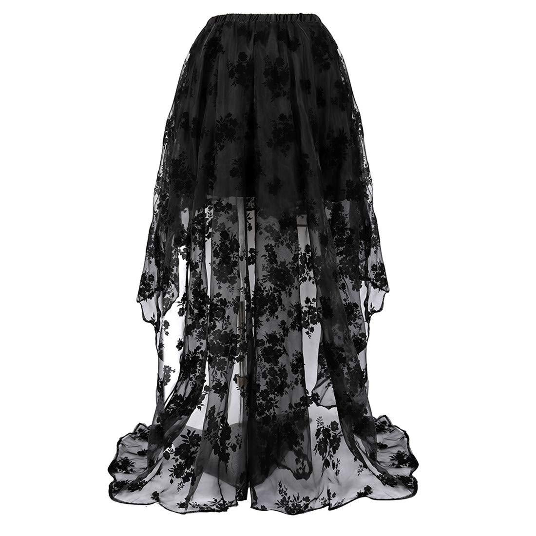 Womens Princess Renaissance Corset Floral Ruched Sleeves Elegant Halloween Costume