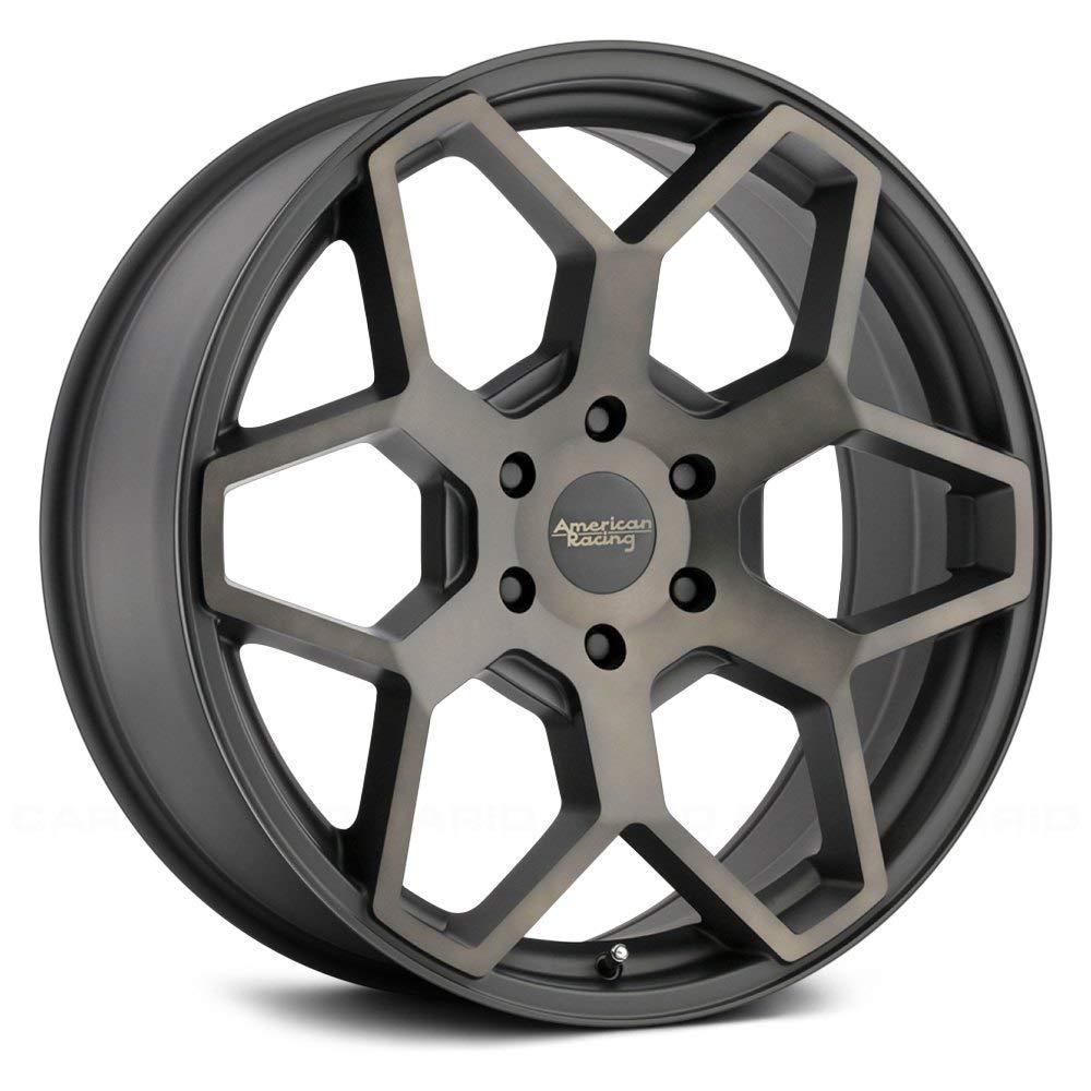 American Racing AR916 Satin Black Machined W/ Tinted CleAR - AR916 18X8.5 6X139.70 Black (35 Mm) - AR91688568935