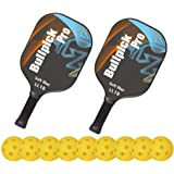 Amazon.com : NOX Paddle Tennis Racket ML10 Luxury L.5 Carbon ...