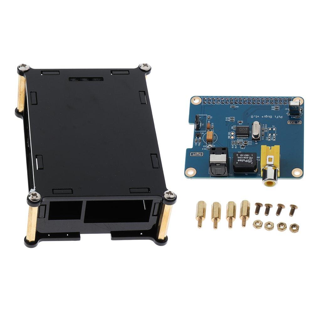 Homyl HIFI DiGi+Digital Sound Card Module SPDIF/Optical Fiber+Case for Raspberry