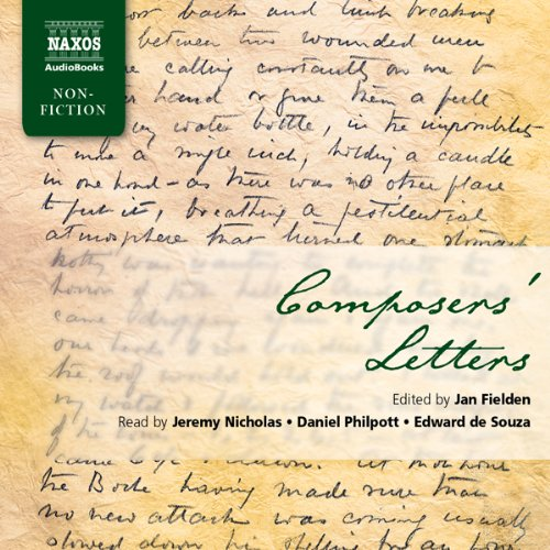 Composers' Letters Audiobook [Free Download by Trial] thumbnail
