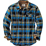 Legendary Whitetails Buck Camp Flannels Cobalt Plaid X-Large