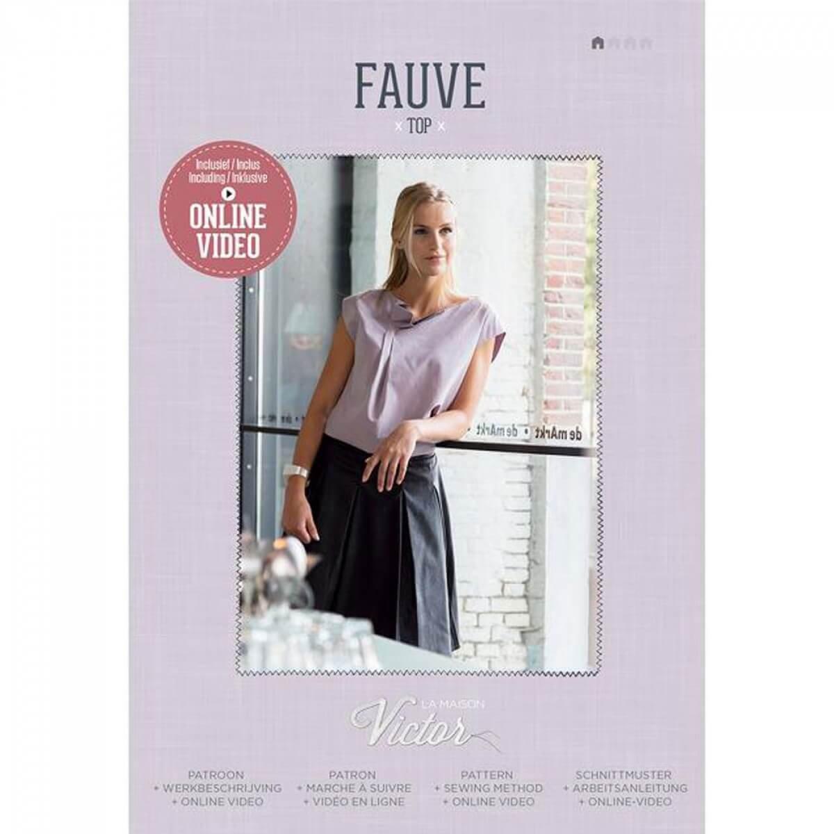 Patron top femme - Fauve de la Maison Victor  Amazon.fr  Cuisine   Maison 2db19d7189c