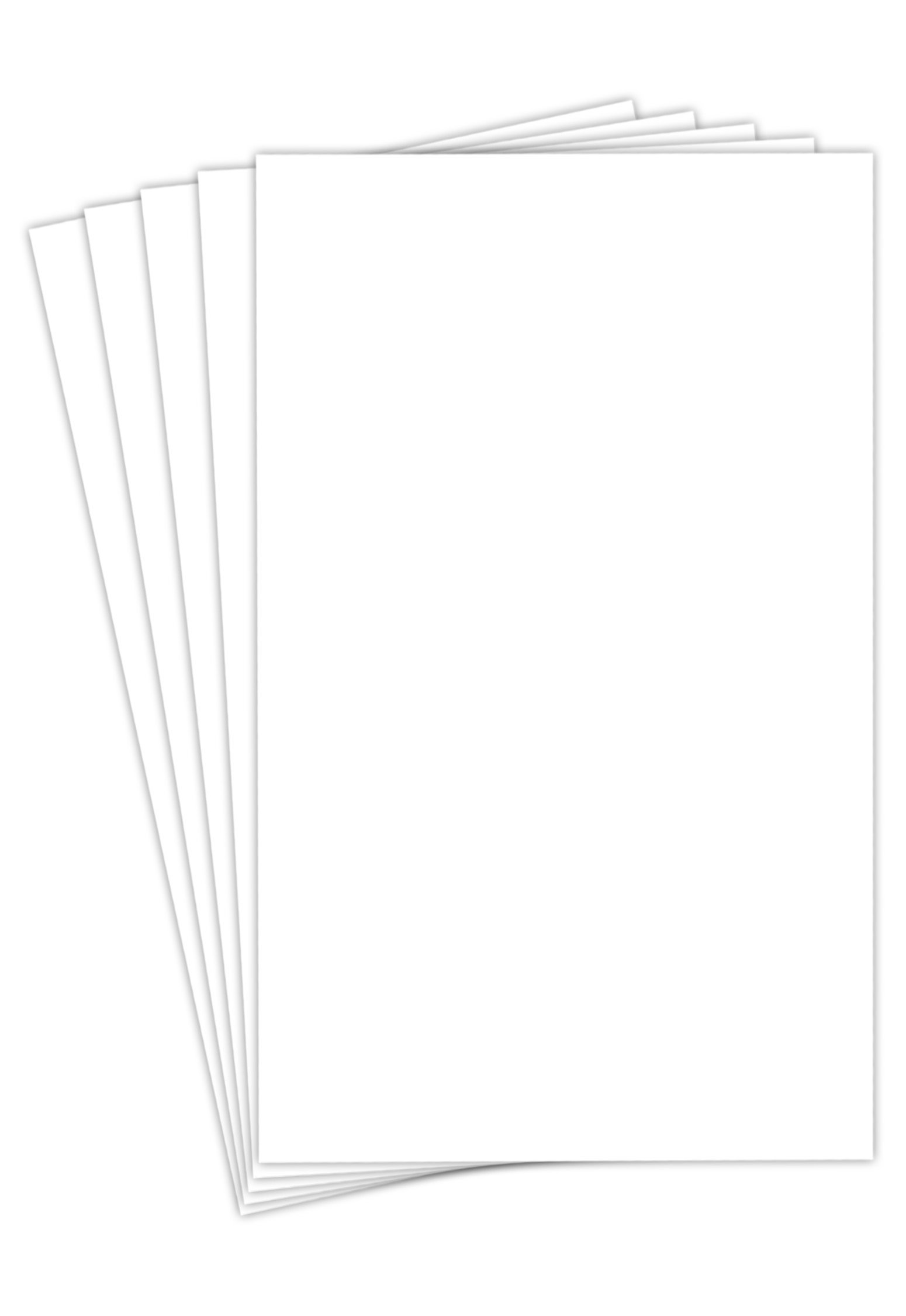 Superfine Printing Springhill Index Digital Cardstock Paper, 110 Lbs, 8.5 X 14 Inch, 50 Sheets / Pack - White