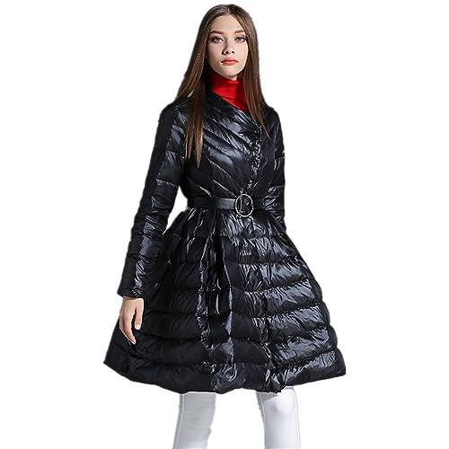 BOMOVO Mujeres de manga larga Casual Rebecas de abrigo pretina