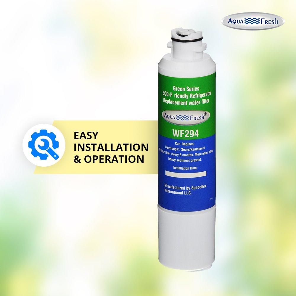 Aqua Fresh WF294 Replacement for Samsung DA29-00020B, HAF-CIN/EXP, 46-9101, WSS-2 Refrigerator Water Filter (6 Pack) by Aqua Fresh (Image #4)