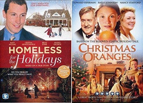 Homeless for the Holidays / Christmas Oranges (2 DVD Set)