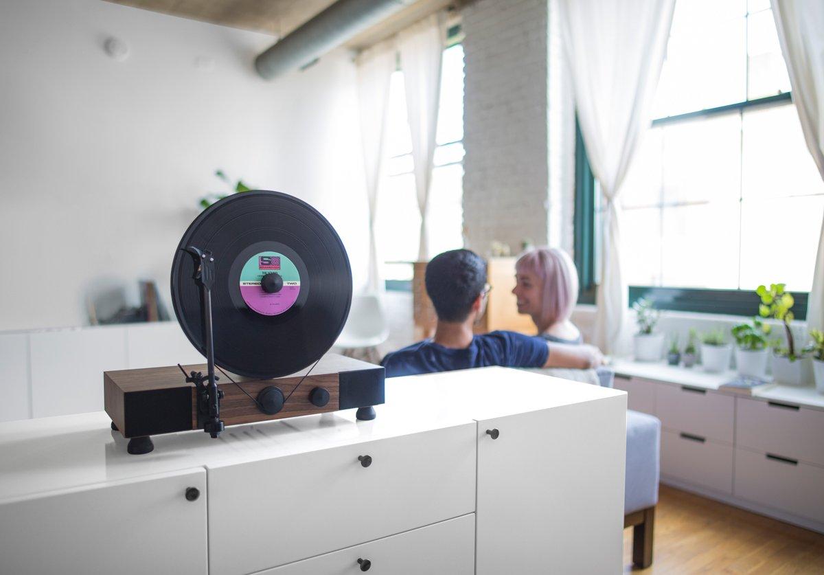 Amazon.com: Flotante Record Vertical Tocadiscos: Home Audio ...