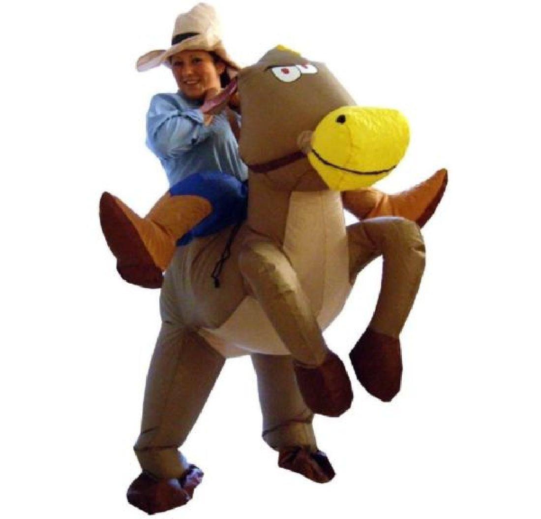 Halloween Inflatable Child Adult Costume Kids Party Dinosaur Unicorn Costume