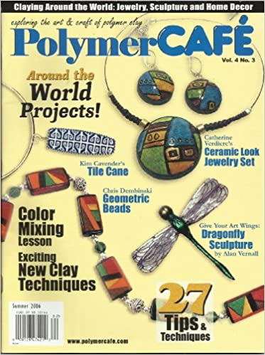 Polymer Cafe Magazines Beads & Jewelry Making Instruction Books & Media