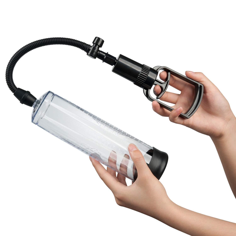 USQD Handheld Travel Set Portable Enhancement Pump Enlarger Training Device for Man Cordless Self Happy Toys Good Gift for Partner by USQD