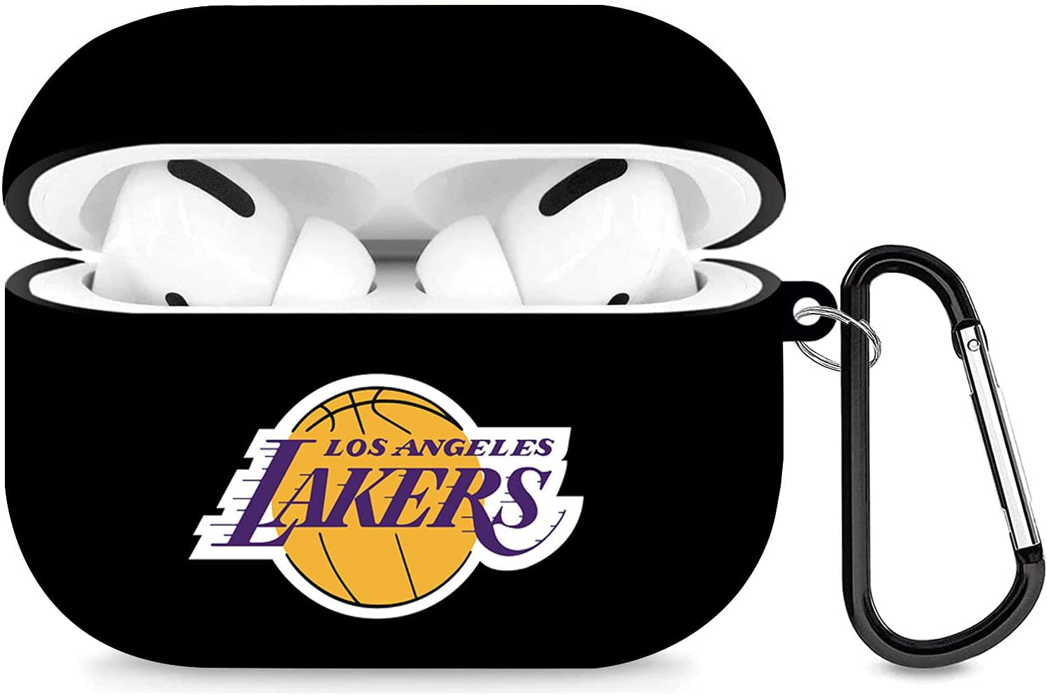 Basketball Fans Airpods Pro Case Compatible with AirPods Pro Full Protective Shockproof Wireless Earphone Case with Key Chain for Girls Boys