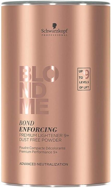 Schwarzkopf BlondMe Bond Enforcing Premium Lightener 9+ Dust ...