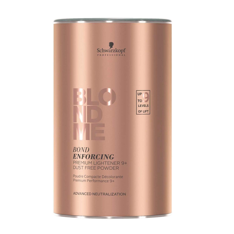 Schwarzkopf BlondMe Bond Enforcing Premium Lightener 9+ Dust Free Powder - 15.8 oz