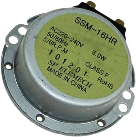 Motor Ssm-16hr 220/240v 30ma 3w 50/60hz Referencia: Eau57424301 para Lg: Amazon.es: Grandes electrodomésticos