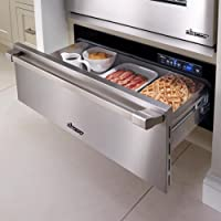 """Dacor EWD36SCH: Renaissance 36"""" Epicure Warming Drawer, in Stainless Steel with Chrome Trim"""