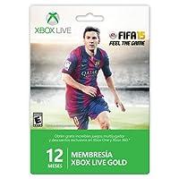 Membresia 12 Meses Xbox Live Fifa 2015 - Standard Edition